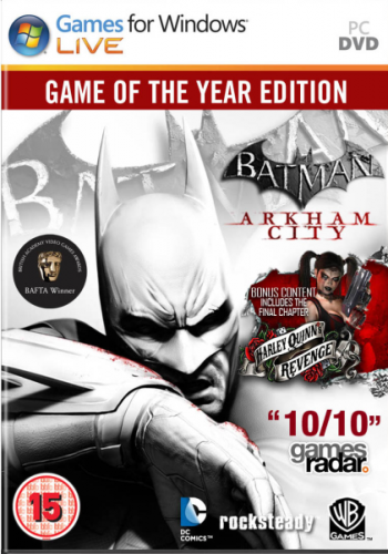 Batman: Arkham City - Game of the Year Edition (2012/RUS/ENG)